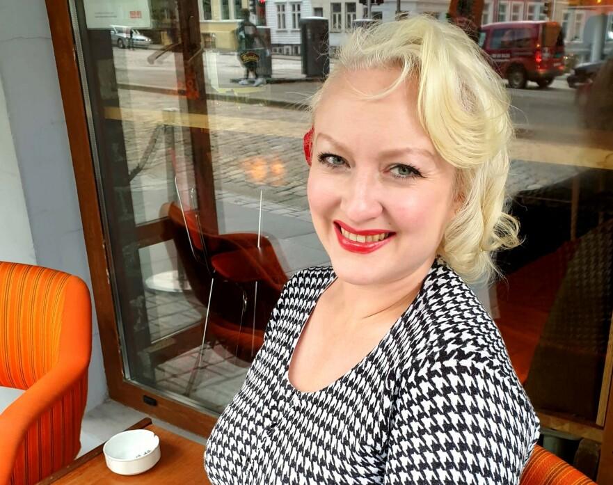 POLYAMORI: – Jeg er alltid åpen for kjærlighet, sier Ida (38), som er solo poly. FOTO: Privat