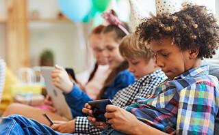 - La barna gå på besøk til hverandre uten mobilen!
