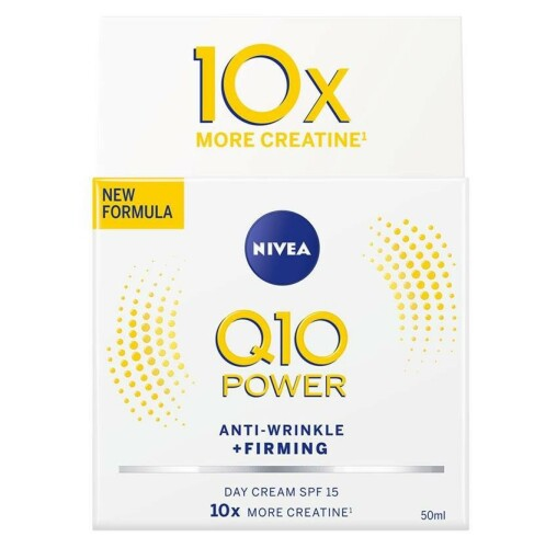 Fuktkrem| NIVEA | https://www.nivea.no/produkter/q10-power-anti-wrinkle-plusfirming-nourishing-day-cream-4005808918959006863.html?utm_source=kk&utm_medium=native&utm_campaign=NO_C204_NIV_Face_Q10Care