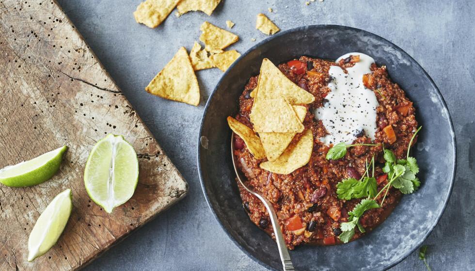 MATPLAN: Trenger du inspirasjon til middager? Her får du en deilig matplan. FOTO: Winni Methman