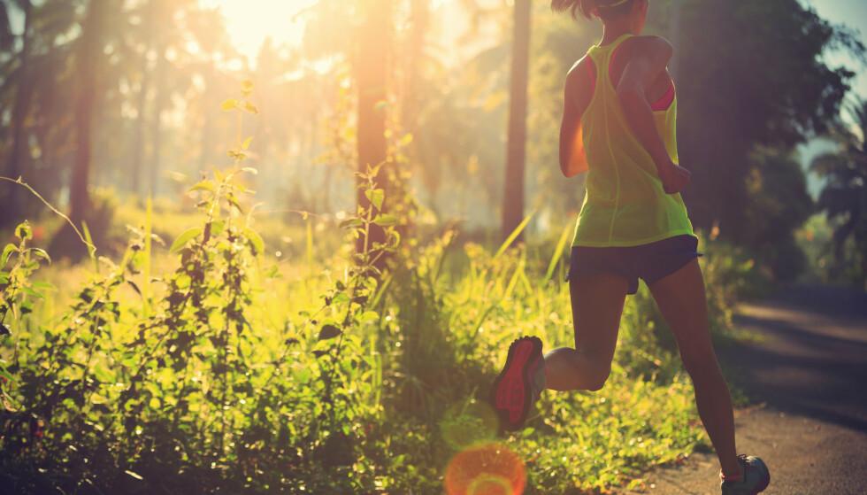 EN GOD START PÅ DAGEN: - Å trene tidlig på dagen, altså før lunsjtider, gjør at du trolig har mer energi til å legge inn i økten, sier ekspert. FOTO: NTB scanpix