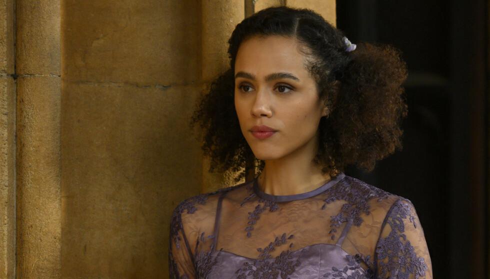 KAPRET HOVEDROLLEN: Hovedrollen i tv-serien spilles av Nathalie Emmanuel, den britiske skuespilleren kjent for rollen som Missandei i Game of Thrones. FOTO: Hulu/Viaplay