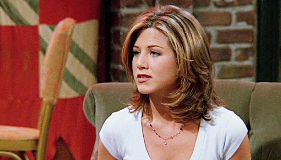 TRENDSETTER: Denne hårsveisen, kjent som «The Rachel», herjet på midten av 90-tallet. FOTO: NBC