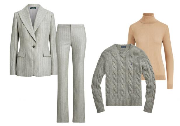 «WEAR TO WORK»: Kolleksjonen består av såkalte «wear to work»-klær – perfekte for en lang dag på kontoret når man vil føle seg både stilriktig og profesjonell. FOTO: Ralph Lauren
