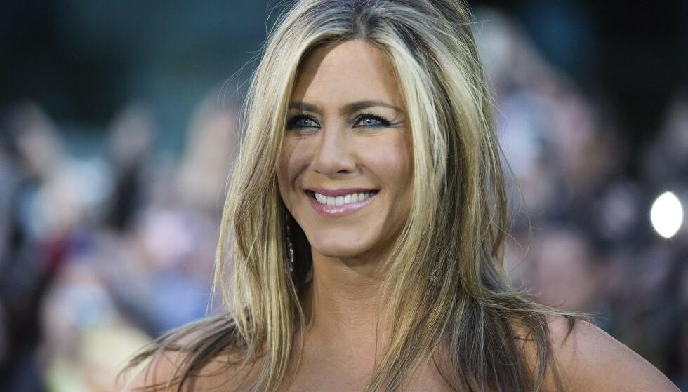 LIKE ETTERTRAKTET: Jennifer Aniston havnet på 5. plass over verdens best betalte skuespillerinner under Forbes' kåring i august i år, med 251 millioner kroner tjent det siste året. FOTO: Scanpix