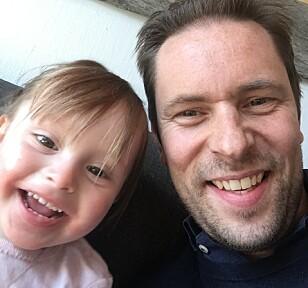 SPARING VIKTIGST: Jens Braathen er opptatt av at barn fra tidlig alder bør lære seg å spare og har derfor blant annet utviklet en digital sparegris. FOTO: Privat