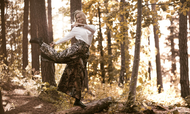 BEVEGELSE: Ingrid Bolsø Berdal har hele livet søkt mot dans, musikk og teater - og naturen. Det samme gjorde Sonja Wigert. FOTO: Astrid Waller
