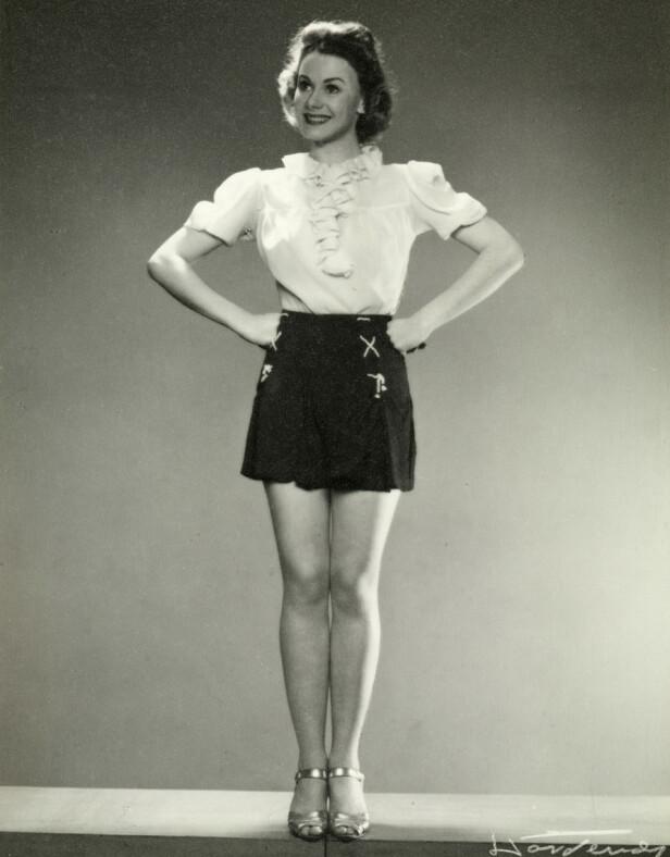 FILMSTJERNE: Sonja Wigert var en av Norges aller mest populære filmstjerner i mellomkrigstiden og under andre verdenskrig. FOTO: Oslo Museum