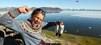Firebarnsfamilien tilbrakte fire uker på Grønland: - Spiste seltarmer og rå fugler