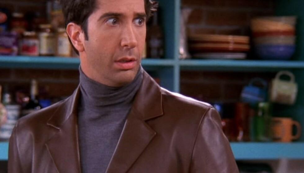 Motejournalist: Er Ross Geller mitt stilikon?