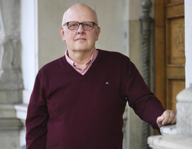 """<strong>FRIKJENT:</strong> Sture Bergwall fotografert i 2016 i forbindelse med utgivelse av boken """"Bare jeg vet hvem jeg er"""". Han har også skrevet boken """"Thomas Quick er død"""" med sin bror Sten-Ove Bergwall. FOTO: NTB Scanpix"""