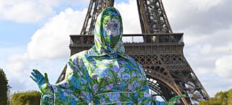 Slik dukket superstjernen opp på moteuken i Paris