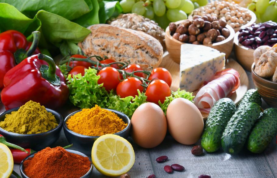 DIETT: Mettende diett fremmer næringsrike matvarer og sterkt krydder. FOTO: monticello / Shutterstock / NTB scanpix