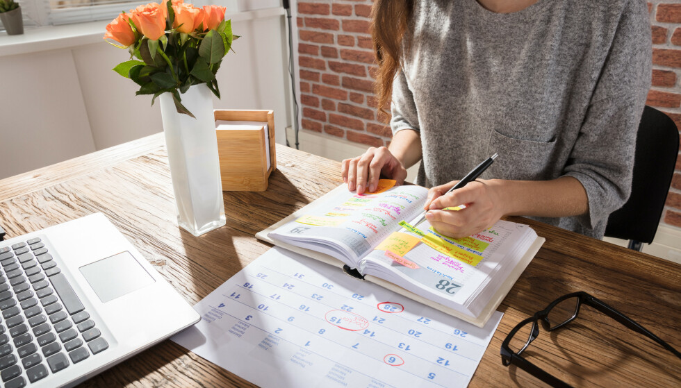 PLANLEGGING ER VIKTIG: - Hvis det oppstår stress er det enkelt å skylde på at man ikke har tid likevel fordi det tar for lang tid å komme seg til og fra, skifte, dusje og så videre, sier ekspert. FOTO: NTB Scanpix