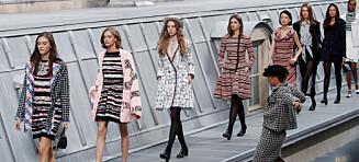 Inntrenger stormet Chanel-showet