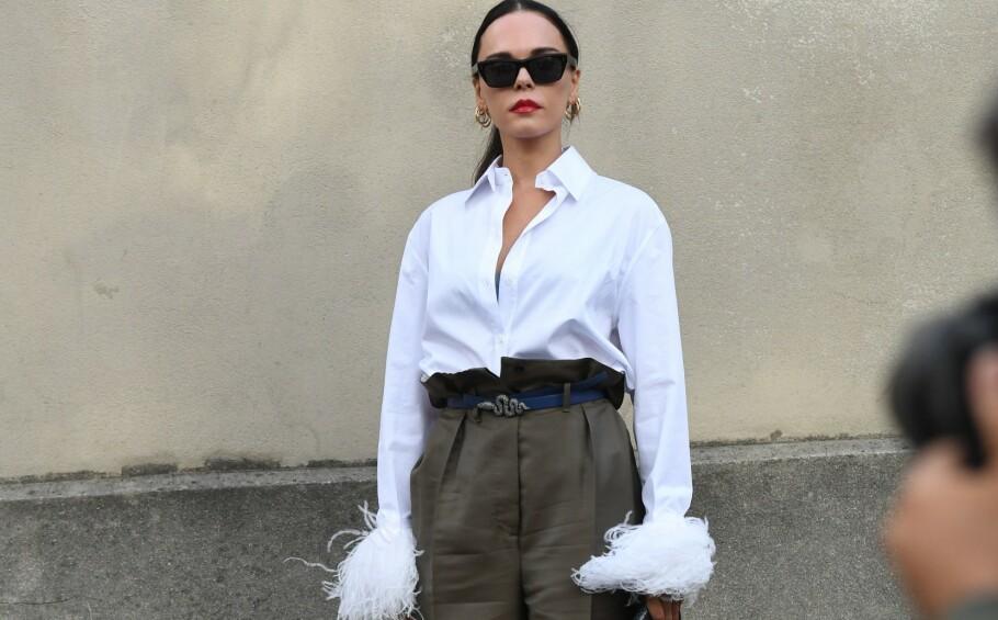 3 TRENDER: Bluser og skjorter med kule detaljer i ermene er blant de tre trendene. Foto: Scanpix