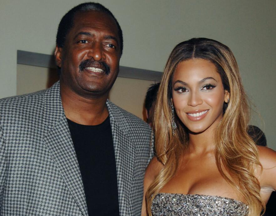 ÅPEN: Mathew Knowles, som er faren til den verdensberømte artisten Beyoncé Knowles, er åpen om brystkreftdiagnosen. FOTO: NTB Scanpix