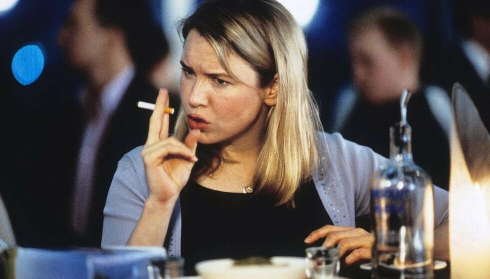 IKONISK: Renée Zellweger som filmheltinnen vi alle ventet på – og behøvde – i «Bridget Jones's Diary». FOTO: Scanpix