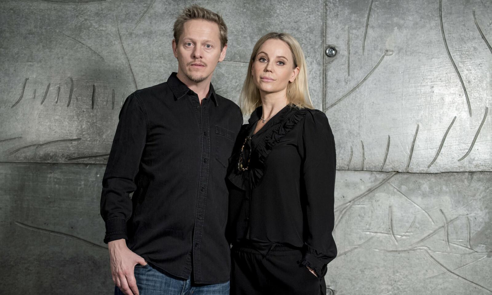 BROEN: Her i Norge er Thure Lindhardt kanskje mest kjent for rollen som politietterforsker Henrik Sabroe i den populære TV-serien Broen. Han spilte med Sofia Helin, som spilte politietterforsker Saga Norén. FOTO: NTB