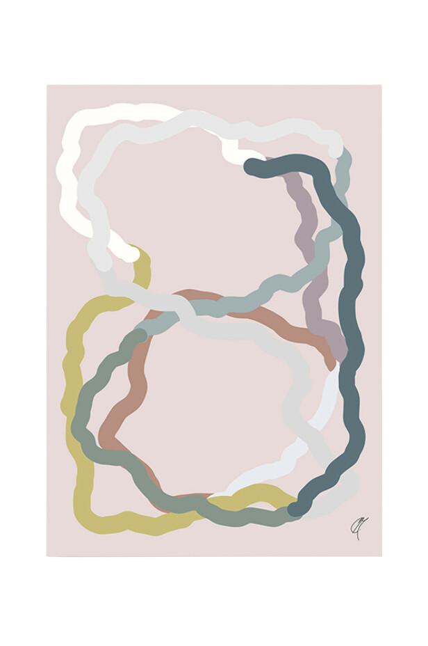 Gi veggene nytt liv med bilder i glade farger! Plakat (kr 400, Kortkartellet). FOTO: Produsenten