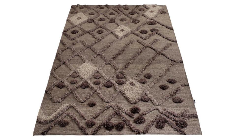 «Bur-Bur» i afghansk ull, 170×240 cm (kr 14 600, Massimo). FOTO: Produsenten