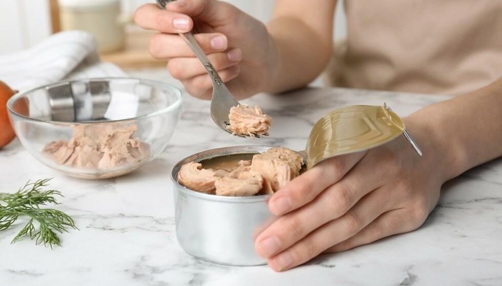 HERMETISK: Tunfisk på boks er minst like sunt som fersk tunfisk. FOTO: Shutterstock