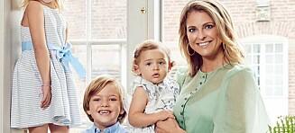 Dette sier prinsesse Madeleine til at barna mister kongetittel