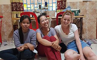 Symesterskap-vinneren startet sykurs i en garasje i Kambodsja