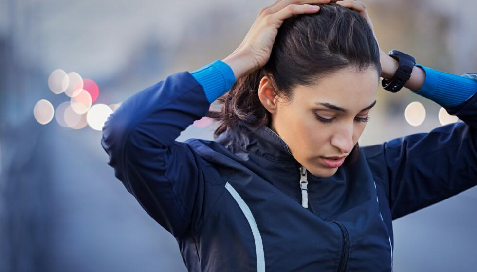 HA EN PLAN: Ha en plan på hva du skal gjøre når du kommer på trening, og vær sikker på at det du gjør fører deg nærmere målet ditt. FOTO: NTB