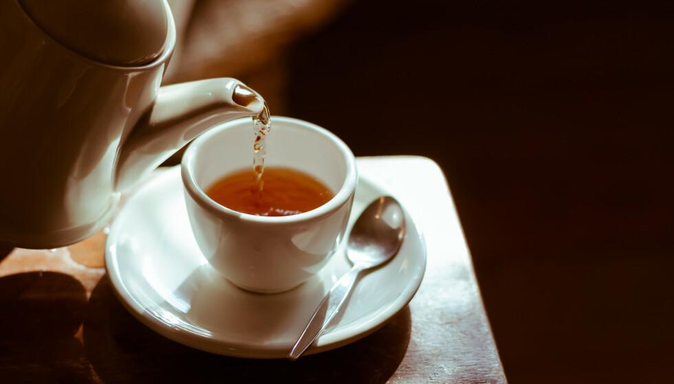 <strong>VARM DRIKKE:</strong> Ville du byttet ut kaffen med te? Njai. FOTO: NTB Scanpix