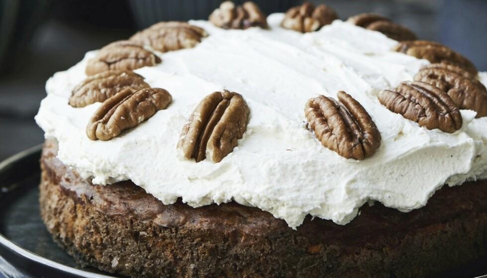 Klart du kan lage deilige kaker uten å bruke masse smør og sukker
