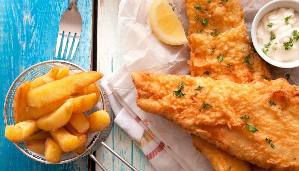 <strong>HVIT FISK:</strong> Bearbeidede fiskeprodukter inneholder ofte hvit fisk, som er en god kilde til jod. FOTO: Scanpix