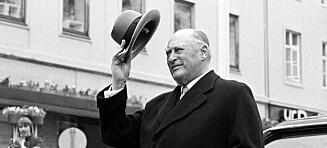 Norsk forfatter hevder at kong Olav er hans biologiske morfar