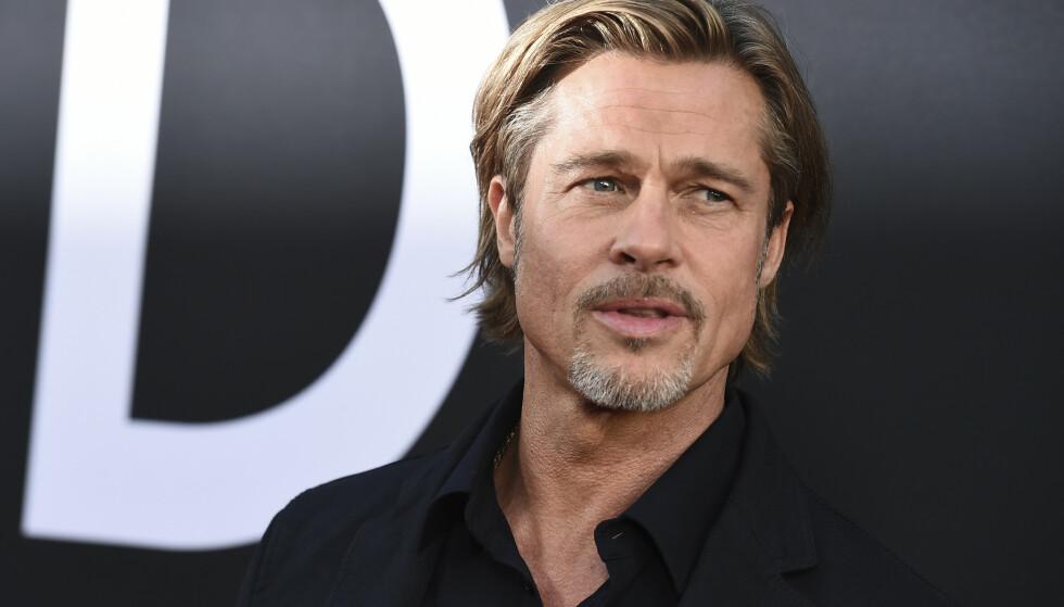 Brad Pitt på premieren av filmen «Ad Astra». FOTO: NTB scanpix
