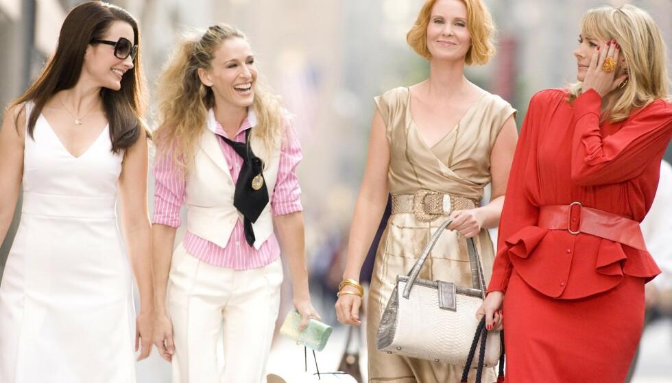 SEX OG SINGELLIV: Kristin Davis, som spilte den håpløse romantikeren Charlotte York i «Sex and the City», er nå klar i ny film. FOTO: NTB scanpix