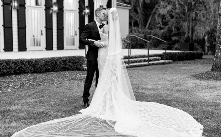 GIFT: Hailey og Justin Bieber giftet seg i september. Foto: Skjermdump fra Instagram @haileybieber