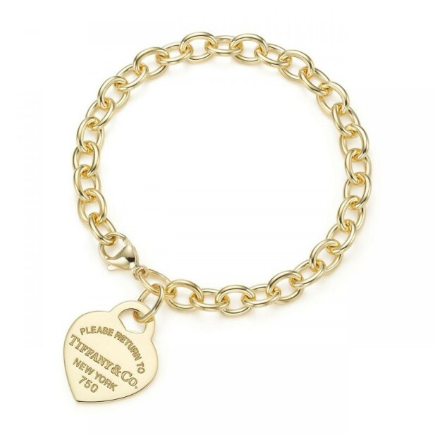 GOD JUL: Hvilken luke denne godbiten skjuler seg er ikke avslørt, men armbåndet er med, ifølge Tiffanys egne nettsider. Foto: Tiffany & Co