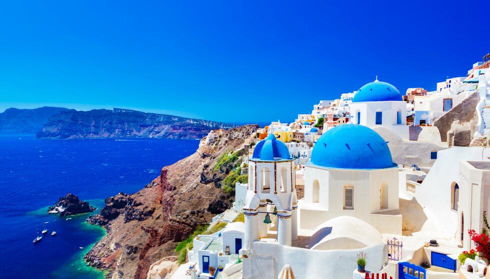 DRØMMEJOBB: En tur til Hellas på lekre destinasjoner - mot litt Instagram-aktivitet? Det kan bli deg. FOTO: NTB Scanpix