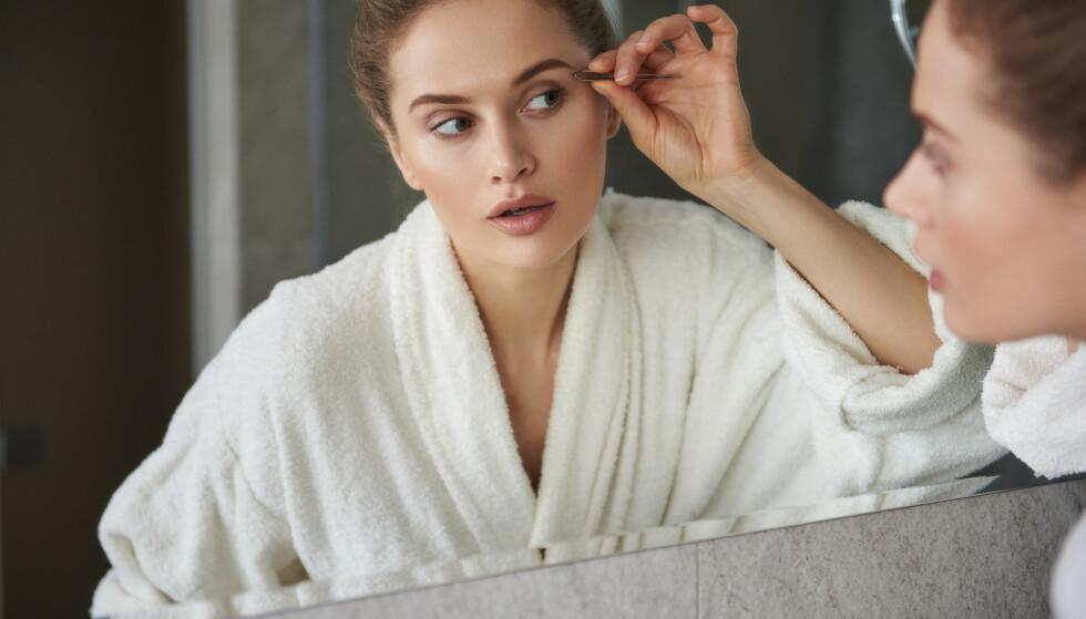 <strong>ØYEBRYN:</strong> Er huden fin og brynene på plass trenger man nesten ikke annen sminke, mener ekspert. FOTO: NTB Scanpix