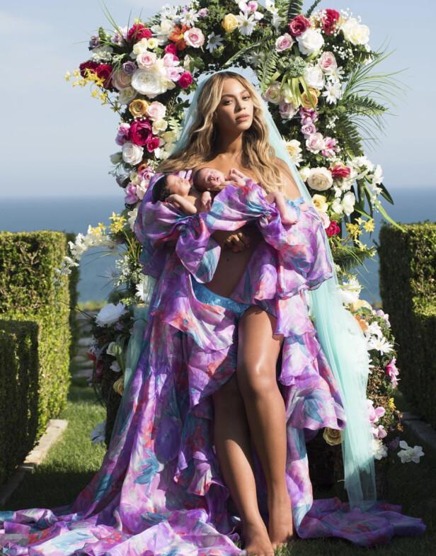 Blue Ivy, Rumi og Sir er navnene til barna til Beyonce og Jay-Z, Foto: NTB Scanpix