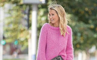 Myk og god Line Langmo-genser