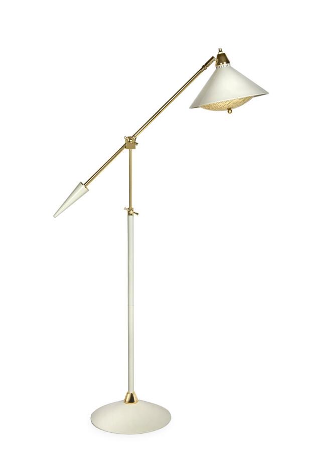 Lampe (kr 8550, Jonathan Adler). FOTO: Produsenten