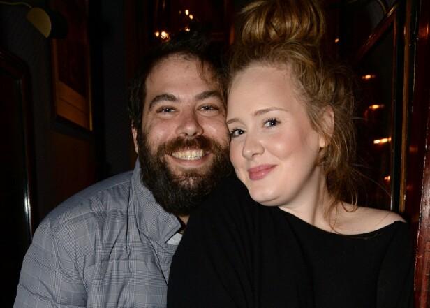 BRUDD: I høst ble det kjent at Adele og ektemannen Simon Konecki har tatt ut skilsmisse, etter tre års ekteskap. FOTO: NTB scanpix