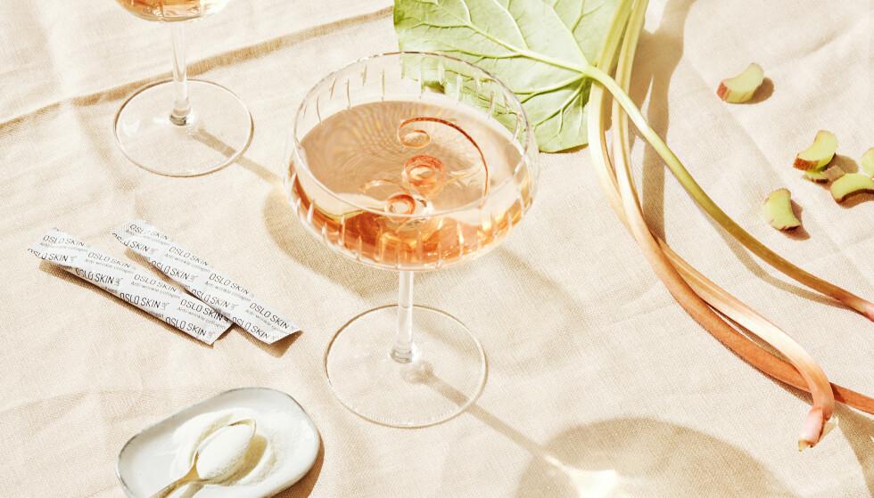 ALLSIDIG: The Solution kan puttes i vannglasset du drikker om morningen, i smoothien etter jobb, i kveldsmaten... Bare fantasien setter grenser! FOTO: Oslo Skin Lab