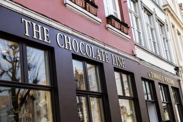 The Chocolate Line er stedet å besøke hvis du er klar for en annerledes sjokoladeopplevelse. FOTO: Mikkel Bækgaard