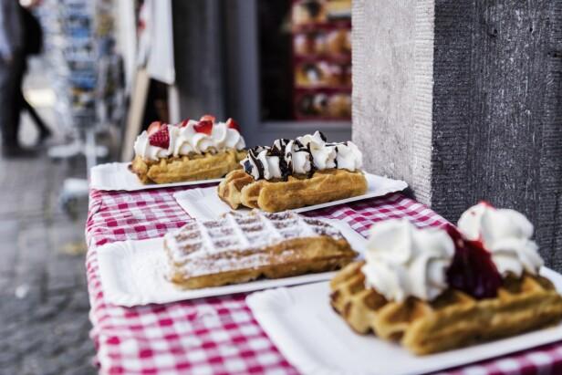 Brugge er kjent for å være en særdeles god restaurantby, og her kan du få bra mat i alle prisklasser. FOTO: Mikkel Bækgaard