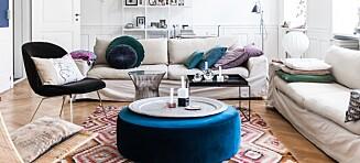 Kombiner klassisk design med mer utradisjonelle innslag og farger
