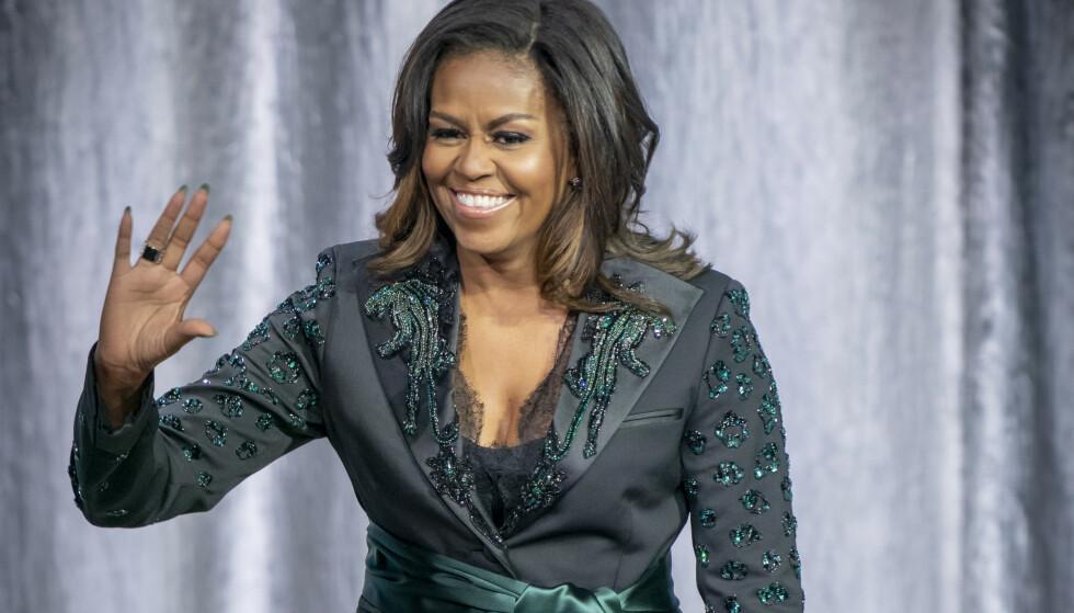 TIDLIGERE FIRST LADY: Michelle Obama trener hver dag og mange økter går kun til armtrening. FOTO: NTB Scanpix