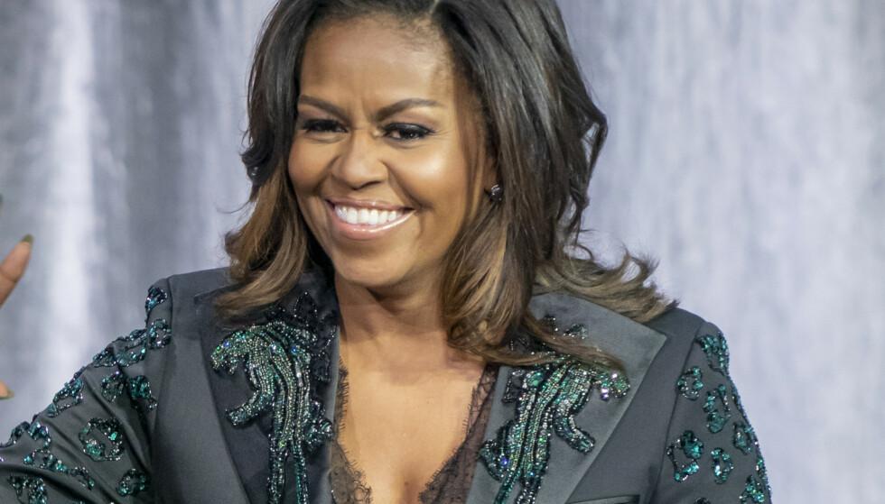 Slik trener Michelle Obama (55)
