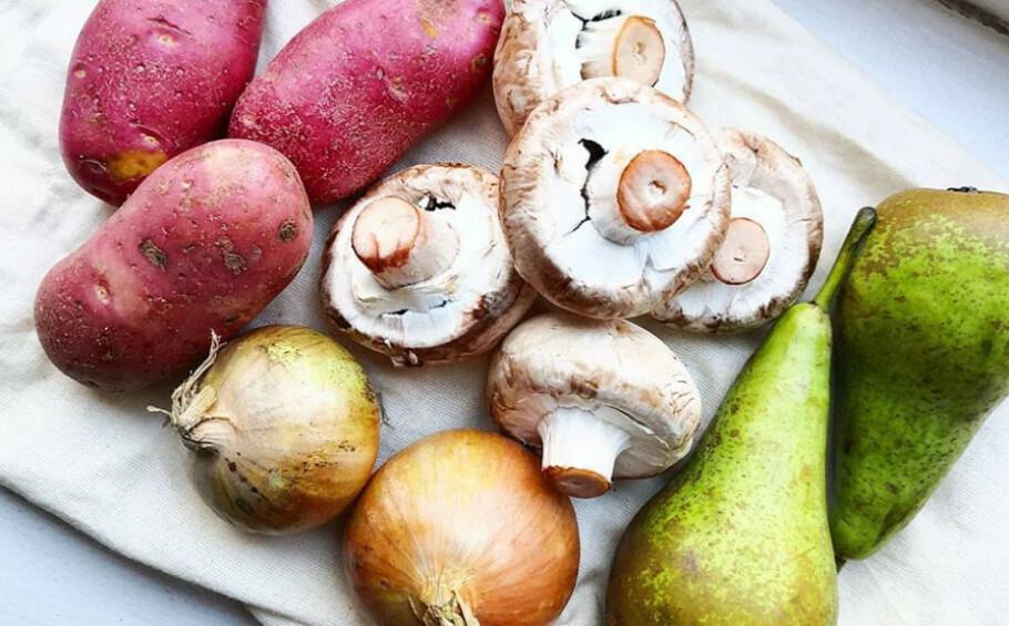 GAMMEL MAT: Selv om grønnsakene har blitt litt gamle og slappe, kan de fint brukes i for eksempel gryteretter eller supper. FOTO: Susanne Nesse/privat